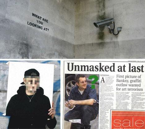 banksy revealed former hoax