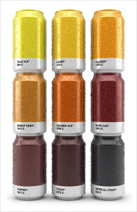 beertone colored can design