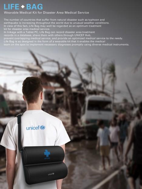 disaster design bag of life