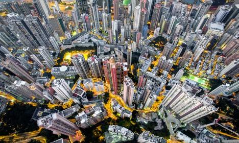 drone density china