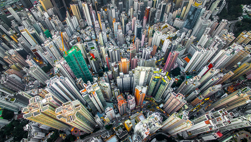 drone photo hong kong