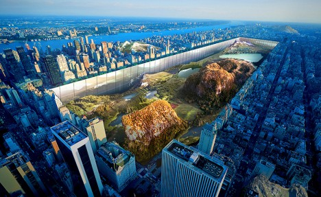 future nyc central park wall 1