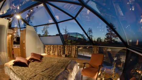 Glass Roofs Igloos Iceland