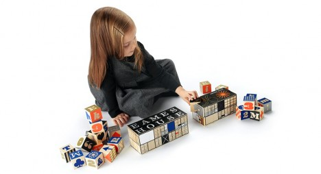 mini modernist eames blocks