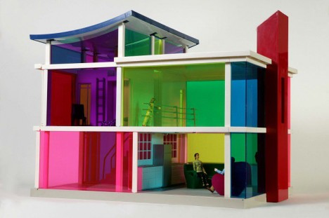 mini modernist kaleidoscope house 1