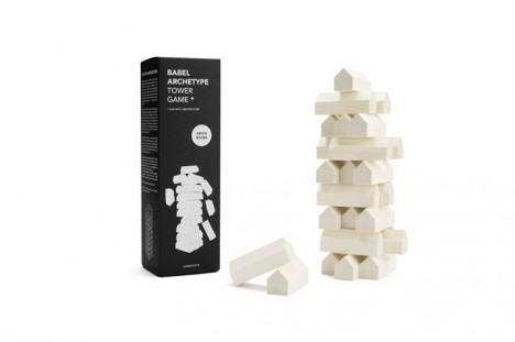 mini modernists babel tower game