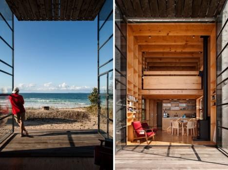 mobile cabin hut on sleds 3