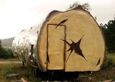 mobile cabins literal log