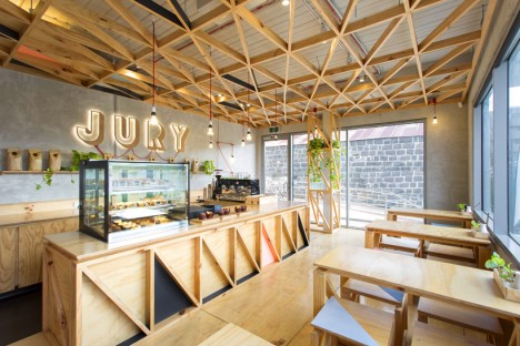 plywood jury cafe