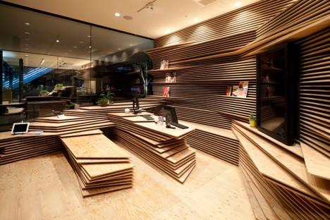 plywood lounge