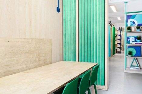 plywood partitions 2