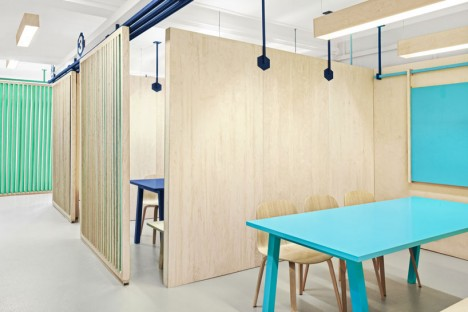 plywood partitions 3