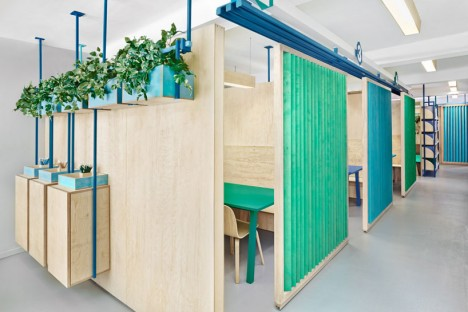 plywood partitions
