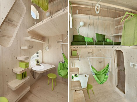 plywood student flat 4