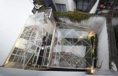 sculptural glass roof 3