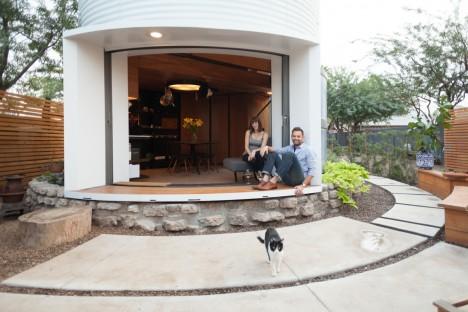 Midcentury Grain Silo to Modern Home: Incredibly Cozy Conversion