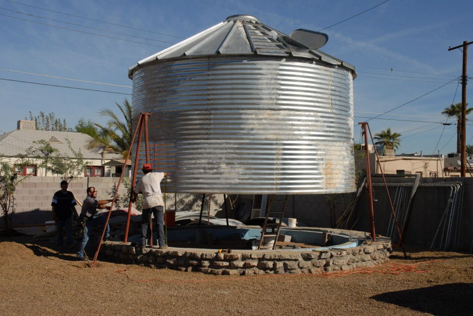 Midcentury Grain Silo To Modern Home Incredibly Cozy