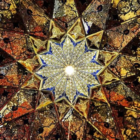 star ceiling pattern iran