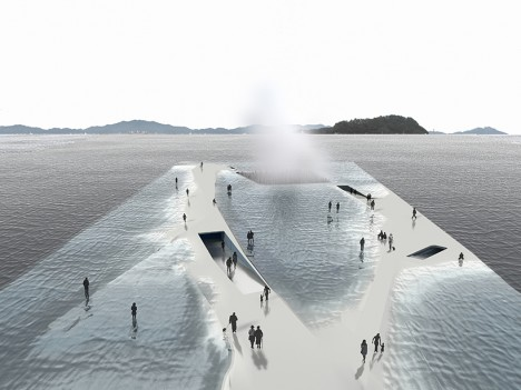 walk on water pavilion