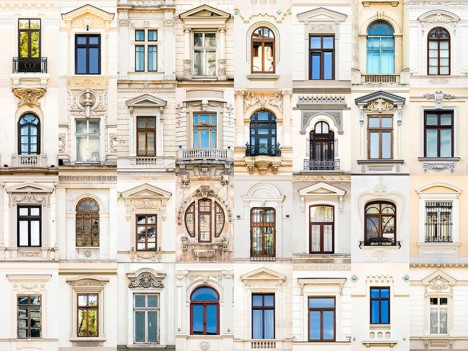 windows of bucharest romania