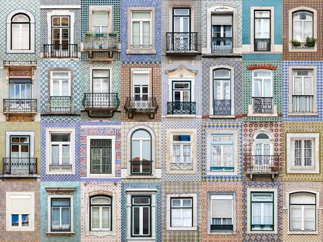 windows of lisbon portugal