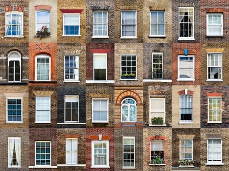 windows of london england