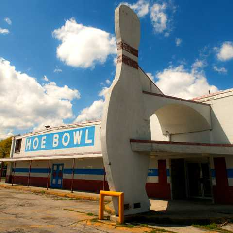 Pinned Down 10 More Abandoned Bowling Alleys Urbanist