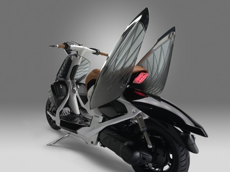 bird inspired yamaha