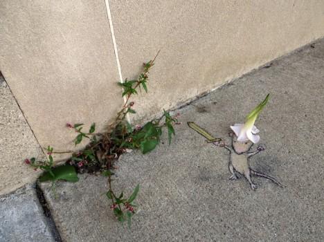 chalk mouse warrior