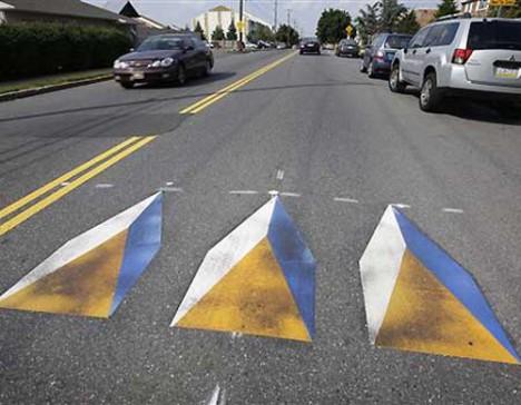 Walk On The Wild Side 13 Crosswalk Illusions
