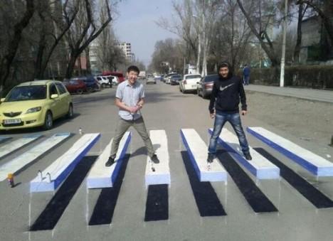 crosswalk roadblock 2