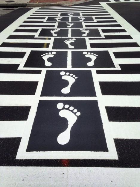 crosswalks hopscotch