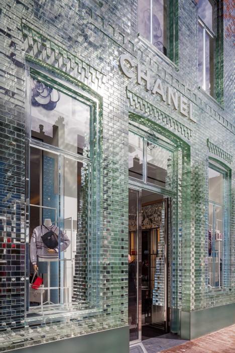 glass brick detail