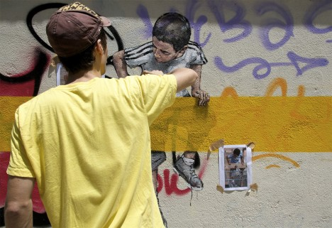interactive street art 13