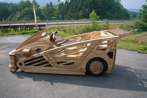 japanese wooden car 2