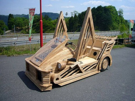 japanese wooden car 3