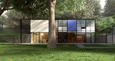 midcentury modern eames house 3