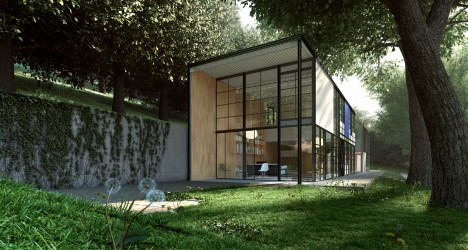 midcentury modern eames house 6
