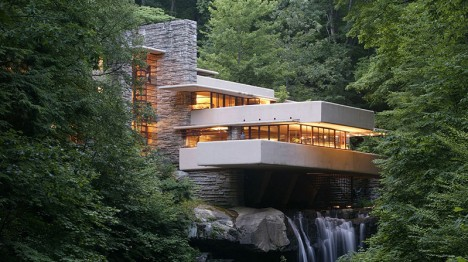 midcentury modern fallingwater 1 - Mid Century Modern Homes Landscaping