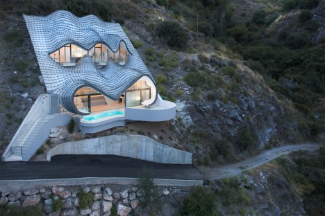 modern hobbit dragon house