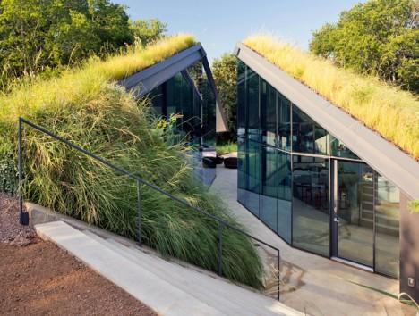 modern hobbit house austin 2