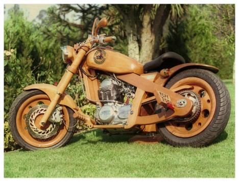 wood transit motorcycle carlos alberto