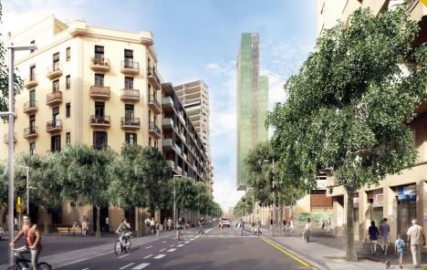barcelona car free