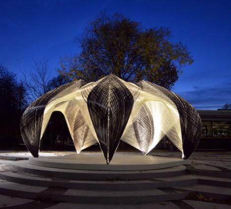 carbon fiber icd pavilion