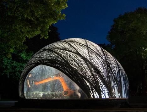 carbon fiber robotic pavilion 5