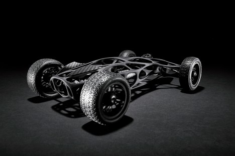 carbon fiber rubber band car 1