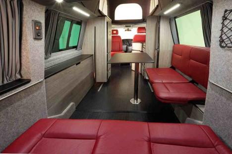 doubleback interior