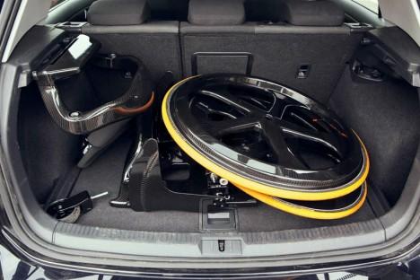 future wheelchair carbon black 3