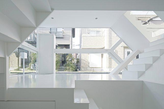 modern houses transparent 3