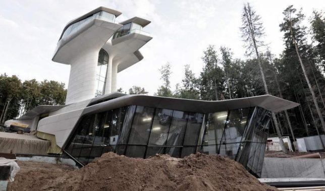 modern houses zaha hadid 1
